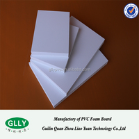 Corrosion Protection Fire-Resistant White High Density white PVC foam board, PVC sheet