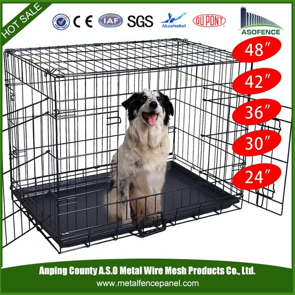 alibaba china manufacture wholesale S / M / L / XL / XXL plastic dog crate