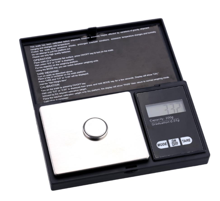 New Design 1000g Digital Platform Pocket Scale (NV-J205A)