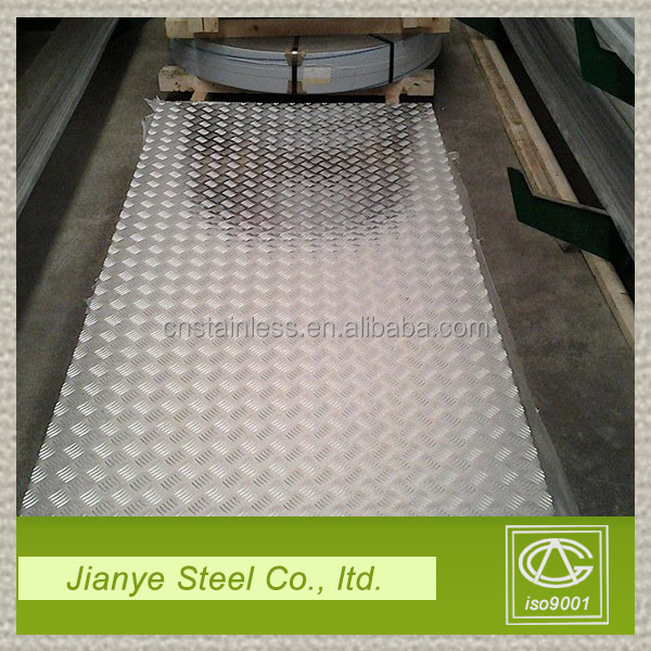 China origin high quality 304 316 dimpled stainless steel sheet