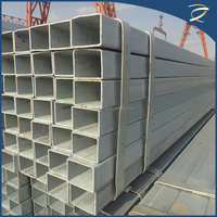 Hot dip square tube galvanized price/steel price per ton/china top ten selling products