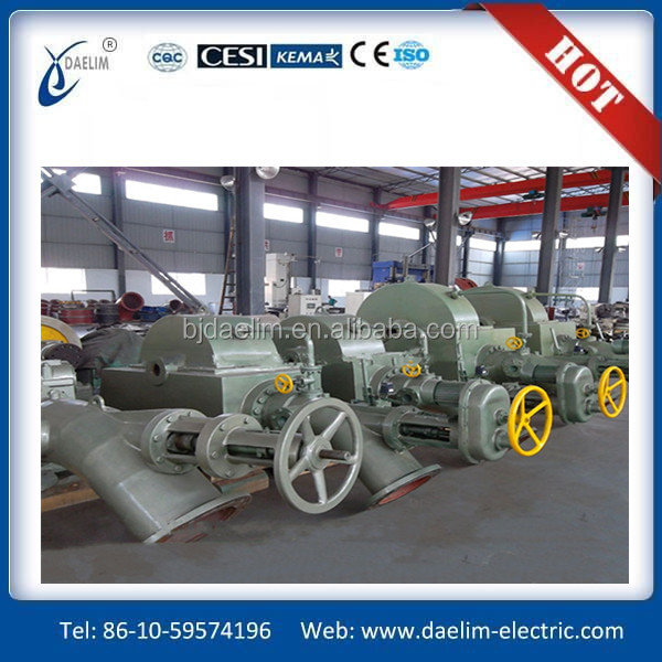 top value water system big power hydro turbine.