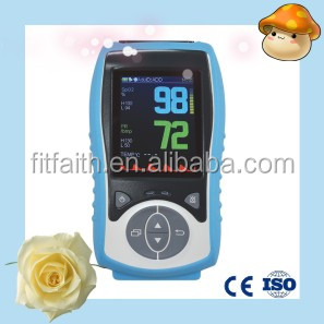 Low price Handheld Pulse Oximeter in blood testing equipments (Nellcor Compatible and CE Approval)