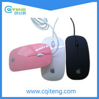 China Optical Super Flat Wired 3D Appl Mouse