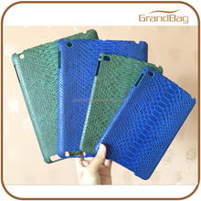 new design luxury exotic skin case for ipad air 2 case python leather cover for ipad case leather sleeve for ipad mini