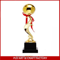china manufacturer high quality custom resin figure resin golf trophy