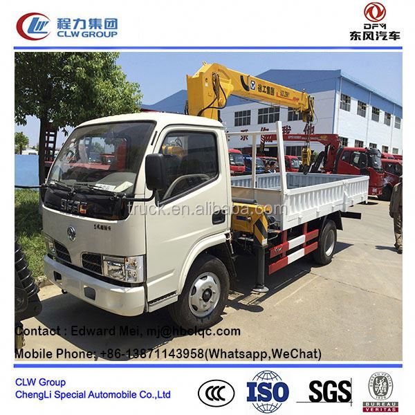 popular china howo crane truck/ used truck with crane