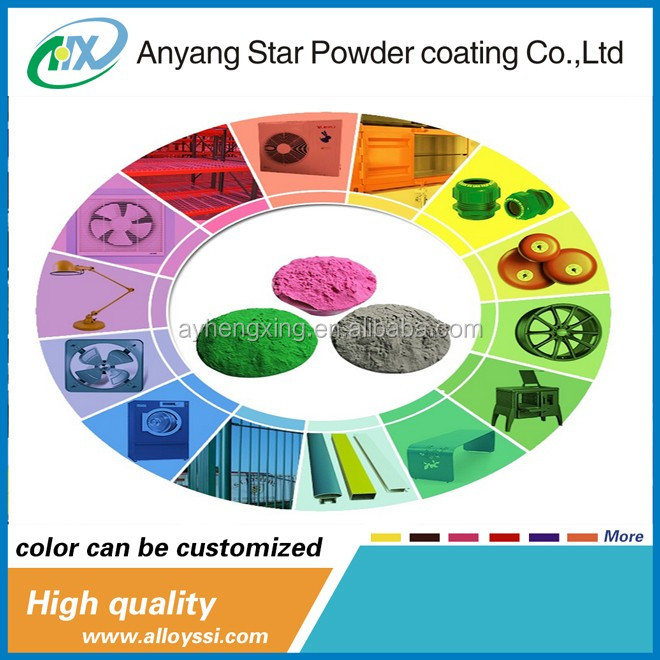 epoxy polyester PowderFree Sample high Quanlity indoor orange peel texture spray thermosetting powder coating paints