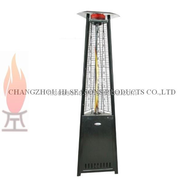 pyramid outdoor patio heater grp4000bk. amazoncom palm springs pyramid quartz glass tube flame patio outdoor heater grp4000bk