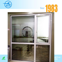 High quality aluminum frame double tempered glass swing casement window