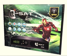 Q-sat q28g. Qsat Q28G hd gprs dvb-s2 decoder and DVB-T2 combo for Africa