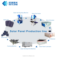 Low Cost PV 1MW 5MW 10MW Photovoltaic Solar Panel Assembly Line System