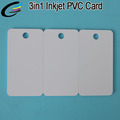 Plastic PVC Key Tag Business Combo Cards 3in1