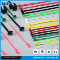 Haitai Wholesale Different Size And Color Self-locking/Automatic Cable Tie Set Taiwan