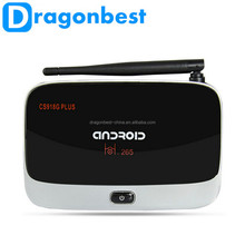 Original CS918G Plus full hd 1080p android tv box 4.2.2 Amlogic S805 wireless BT 4.0 1g 8g HD Google Tv Box