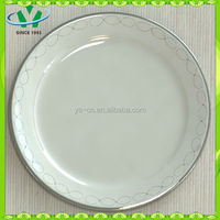 Hotal Tableware White Ceramic Plates Bulk From China