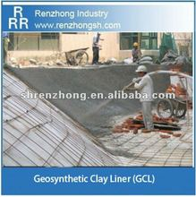 Concrete protection mat geosynthetic clay liner (GCL)