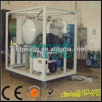 Double stage vacuum Used Oil Distillation Unit