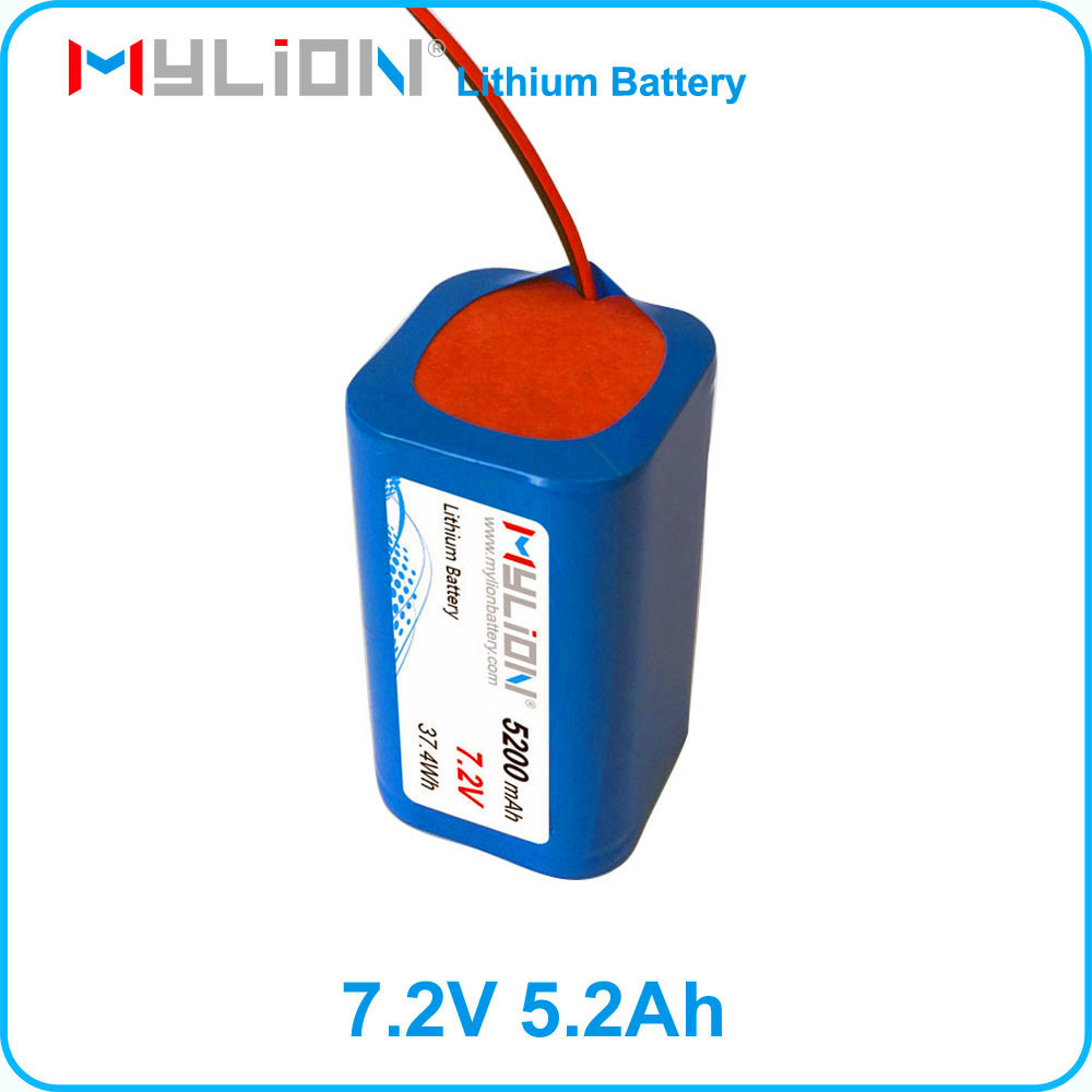18650 Lithium Battery 7.2V 5200MAH For louderspeaker with Samsung cell