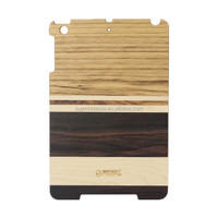 Slim Smart Magnetic Wood Case+ Back Case Cover For iPad 4/3/2