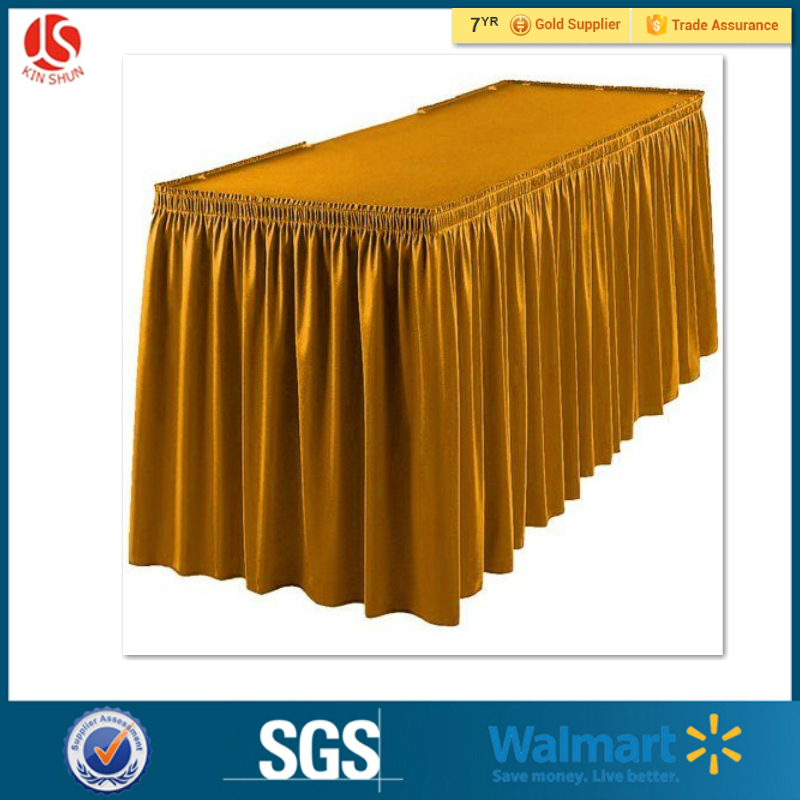 Wholesale China party supply manufacturer Plastic Table Skirts