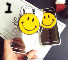 Cute mirror smile face soft protective case for mobile iphone6/6S/Plus
