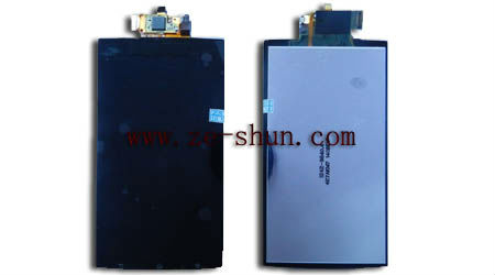 mobile phone lcd for Sony Ericsson LT15 LCD+touchpad complete