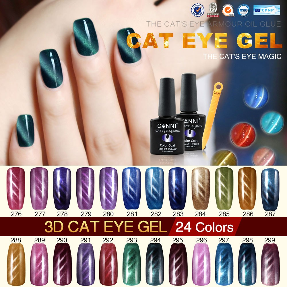 #30917X CANNI Wholesale Gel Nail Polish, Color Changing Nail Polish Varnish 240 Colors OEM