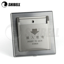 SHIBELL new design electrical made in china hotel key card switch ruian