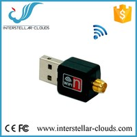 150Mbps Wireless Adapter RTL8188EUS Wifi Connection with 5dBi antenna Wireless N Dongle