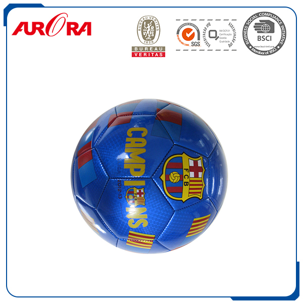 Sports equipment cheap soccer balls in bulk stitching designs SIZE 5 pvc football pu soccerball