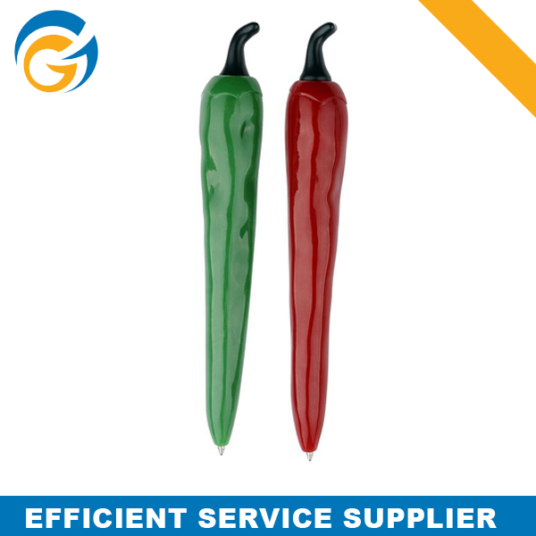 Red and Green Chilli Shape Ball Pen