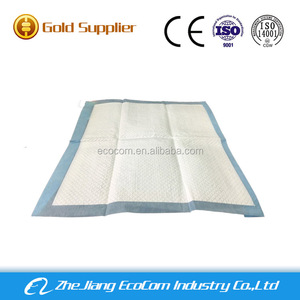 OEM adult hospital Incontinence disposable nursing bed pad