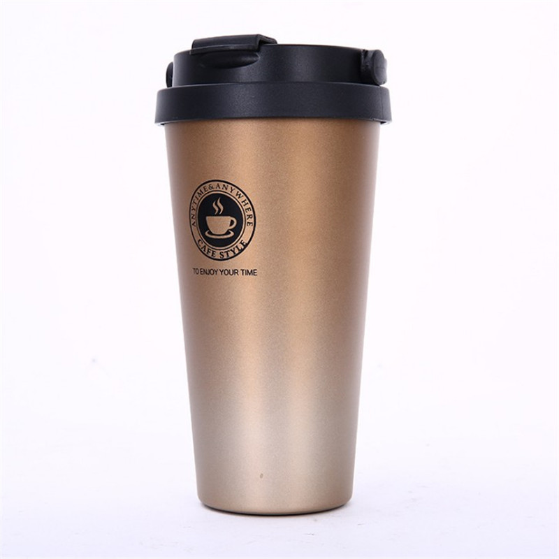 Promo customized 12oz stainless steel coffee mug