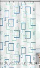 PEVA NEW STYLE STANDARD READY MADE POLYESTER PRINTED SHOWER CURTAIN