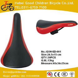 GXHBIKE Factory supply Comfortable Bicycle Saddle/ Factory price, hot selling Bike seat