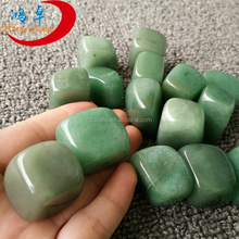 green semi-precious wholesale tumbled stones for engraved runes