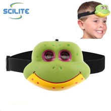Promotional 2 led Animal shaped headlamp perfect for children