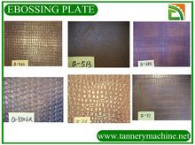 special leather embossing dies for cow leather processing