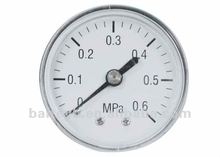 New design bourdon tube price of hydraulic water pressure gauge