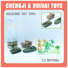 Mini toy military set action figure toy plastic soldiers