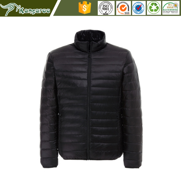 Winter Ultra-light Duck Down Men's Jacket Lightweight Thick Comfy Jacket