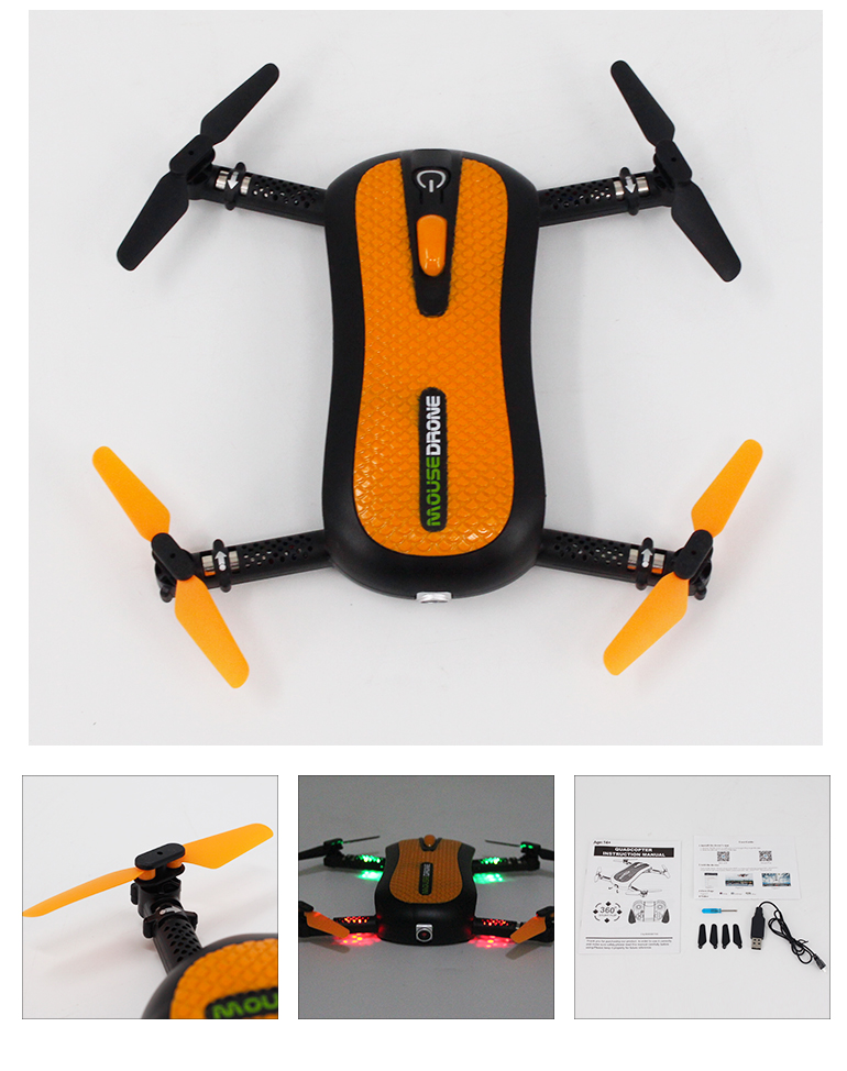 foldable radio control toy drone camera wifi with USB