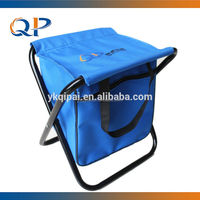 Fishing stool with cooler bag floding beach chair