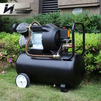 Factory competitive price hot selling portable diesel engine driven air compressors