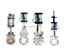 High quality electric and hydraulic inside screw knife gate valve