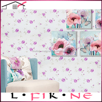 cheap soundproof natural flower bedroom wallpaper for kids