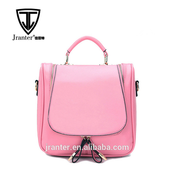 Fashion lady shoulder bags/handbags,promotional backpack