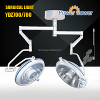 Ceiling operating light YDZ700/700 220V 500W halogen surgical lamp