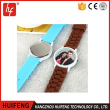 Sublimation Silica Gel Blank Watch DIY Sublimation Students Smart watch